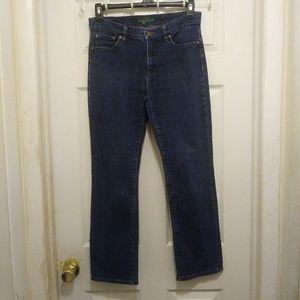 LRL Ralph Lauren 8 Classic Dark Wash Jeans